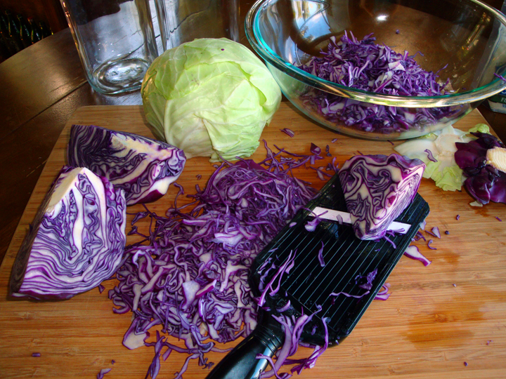 How to Make Sauerkraut - Cabbage